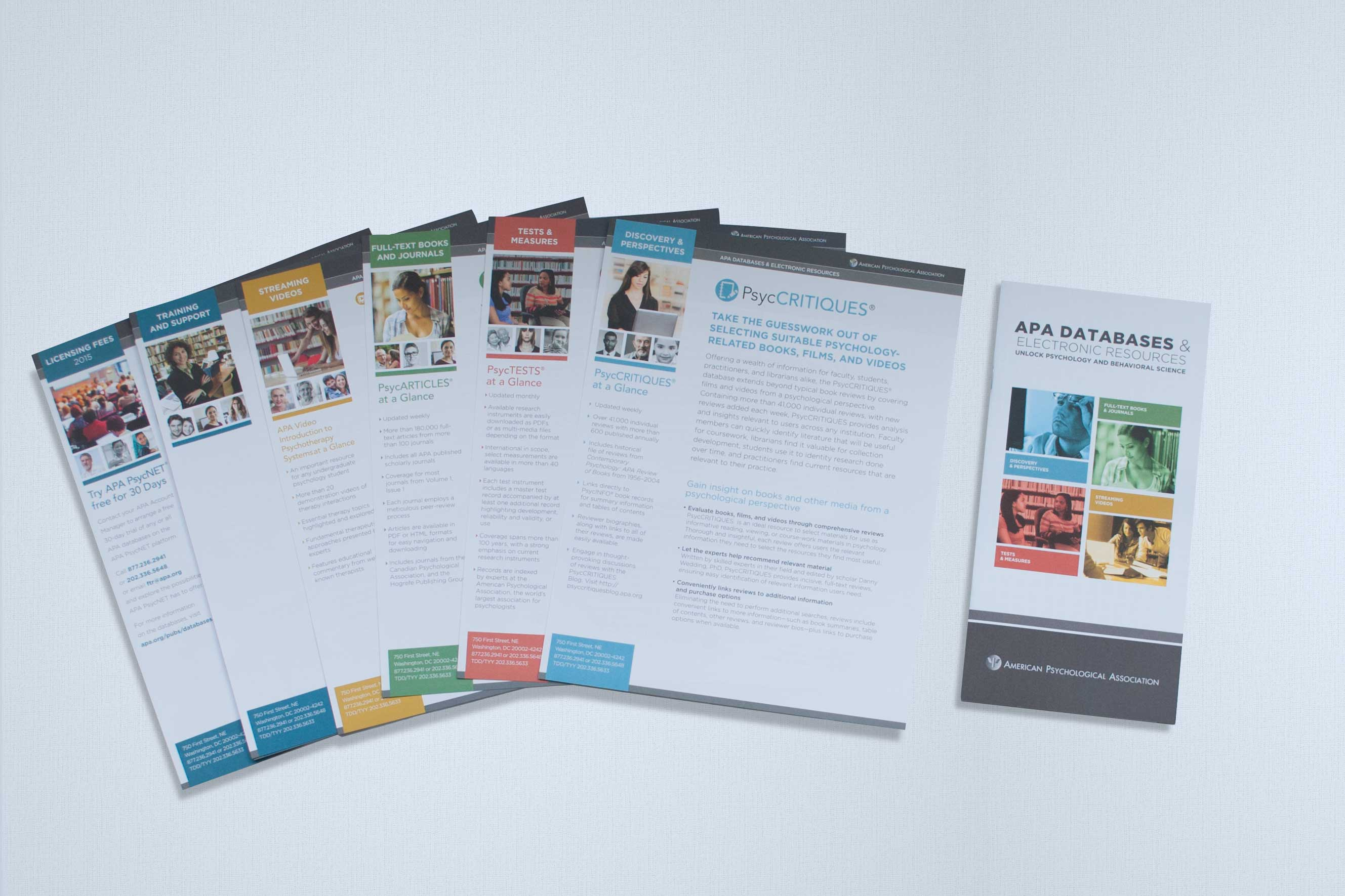 Product one sheets and brochure