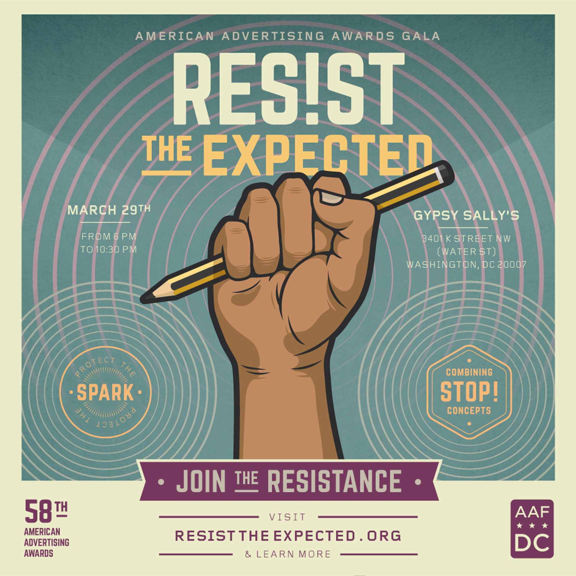 Resist the Expected